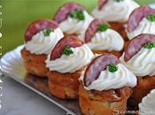 Cupcakes Francs-Comtois pour apéritif gourmand