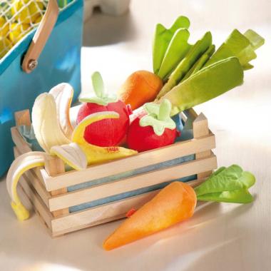 Fruits et légumes en tissu