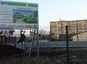 Démarrage chantier d'immeuble logements ossature bois Aubervilliers