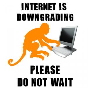 internet downgrade