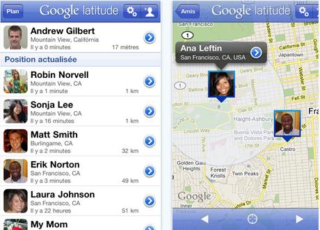 [APPLI] Google Latitude sur l'App Store!