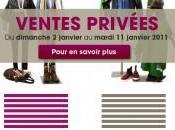 janvier 2011, début ventes privées Victoire!