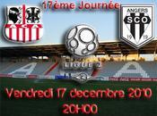 Foot Ajaccio Angers pour compte 18ème journée soir