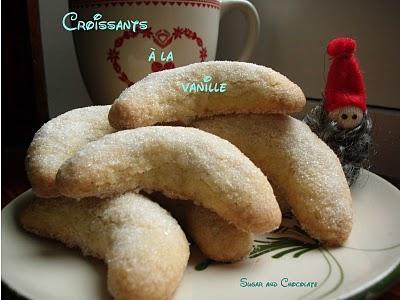 Vanillekipferl Ou Les Croissants à La Vanille De Beau à La Louche
