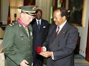 général chinois reçu Paul Biya