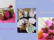Cadeaux gourmands (sablés, truffes clémentine confiture poire chocolat)