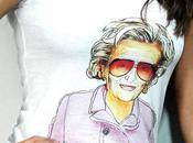tshirt lunettes Bernadette Chirac