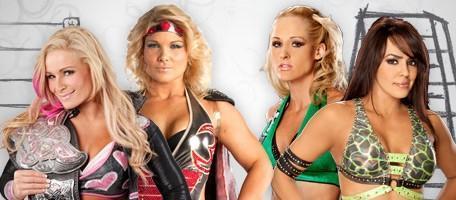Un match par équipe pour le duo Lay Cool opposé à la Championne des Divas Natalya et Beth Phoenix