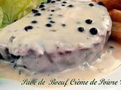Pavés Boeuf Crème Poivre Vert
