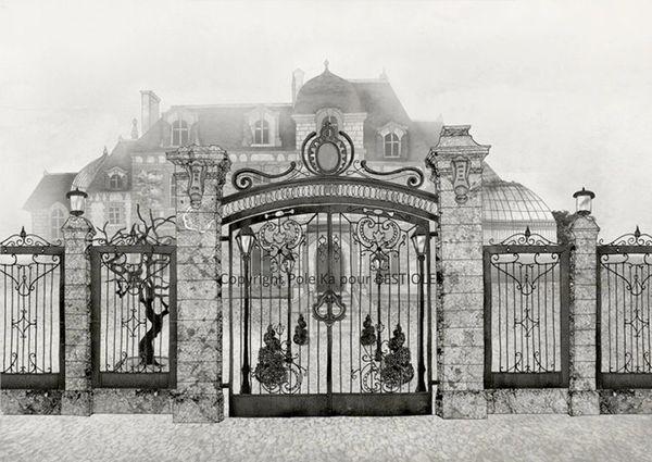 Le manoir aux bestioles vient d 39 ouvrir ses portes d couvrir - Manoir dessin ...