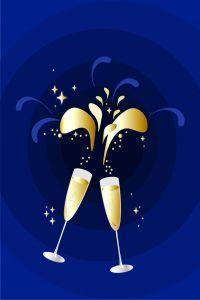 Des bulles pour l'apéritif du nouvel an