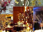 centres table arbres mariage