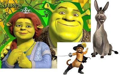 Blu-ray Coffret Shrek La méga intégrale