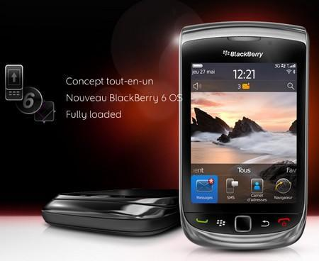 nouveau smartphone BlackBerry Torch