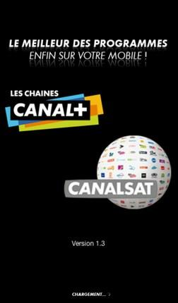 L'application Canal+/Canalsat pour Android incompatible avec la Galaxy Tab