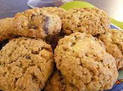 Cookies chocolats flocons d'avoine