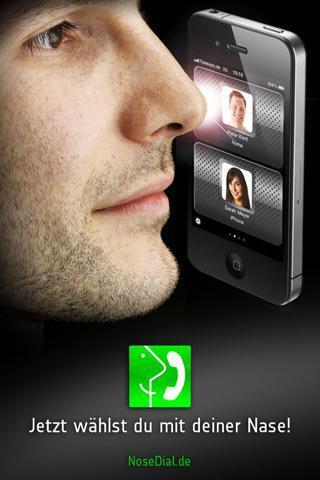 NoseDial, l'appli pour passer vos appels du bout du nez
