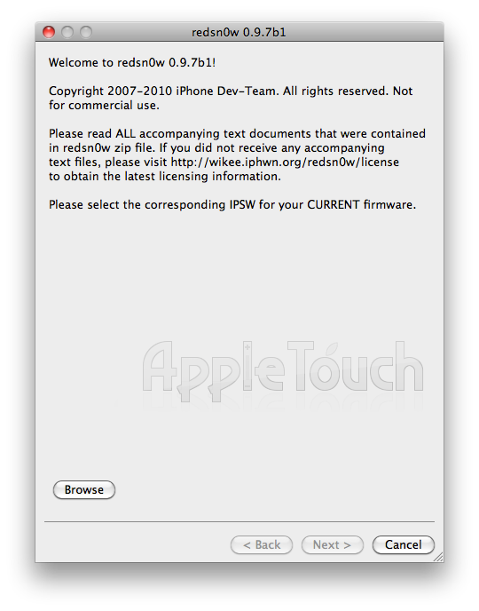 TUTO Jailbreak iOS 4.2.1 untethered : iPhone 4, iPod Touch 4G et iPad avec Redsn0w 0.9.7b1