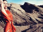 Emily Blunt, glamourous shiny