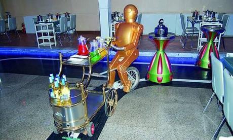 Les robots serveur de Jinan