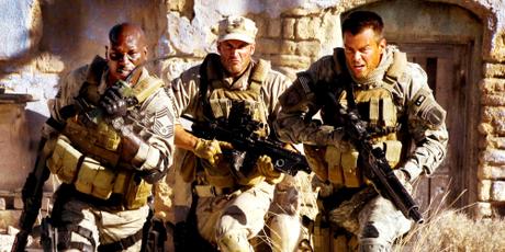 Josh Duhamel, à droite, et Tyrese Gibson, à gauche, dans Transformers 2