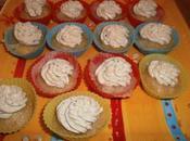 Mini cupcakes chèvre mousse pesto basilic