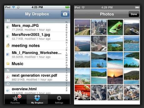 dropbox iphone review Le top 10 des applications iPhone de 2010