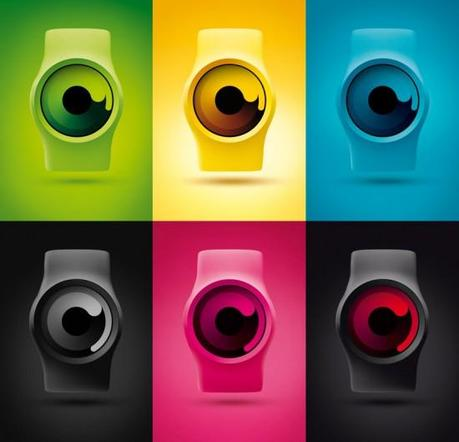 Image ziiiro watch colors 550x529   ZIIIRO Watch