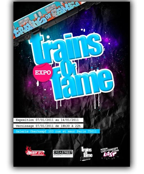 TRAINS OF FAME exposition