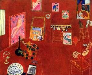 L'atelier rouge de Sylvia Tabet