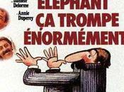 éléphant trompe énormément Yves Robert (1976)