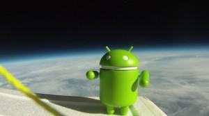 Google réalise une pub stratosphérique