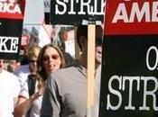 Grève Hollywood nouveau franchi!