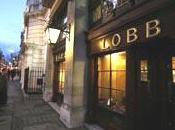 Visite l'atelier mesure Lobb Londres