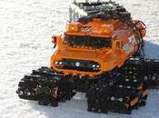 véhicule tout terrain chenilles LEGO