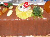 Nougat glace chocolat, calissons fruits confits