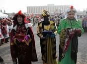Défilé Rois mages Varsovie janvier