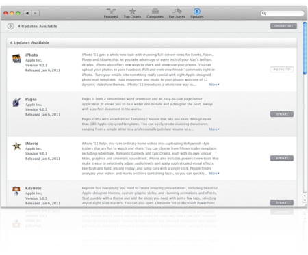 Mac App Store enfin disponible !
