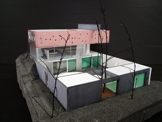 La maison du jeudi maison bordeaux rem koolhaas paperblog - Maison de l architecture bordeaux ...