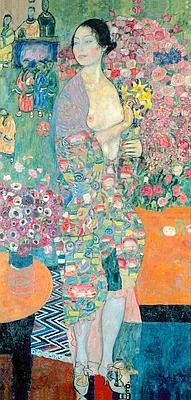La Danseuse, 1916-1918,de Gustav Klimt . (Collection particulière, Courtesy Neue Galerie, New York)