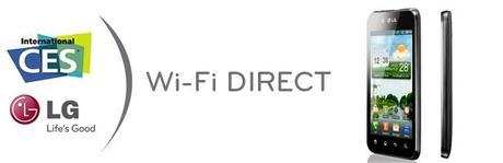 CES 2011 : LG présente le Wi-Fi Direct
