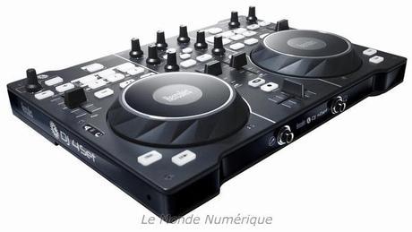 CES 2011 : Hercules lance une nouvelle table de mixage pour DJ numérique