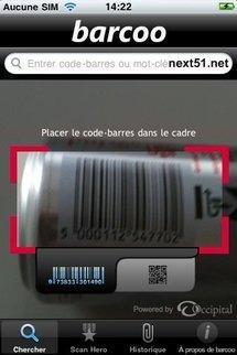 Barcoo sur iPhone vous dit tout sur les produits scannés...
