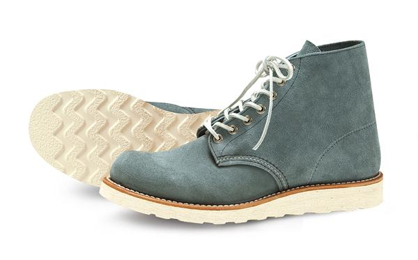 NIGEL CABOURN FOR RED WING – CLASSIC WORK 6″ ROUND-TOE