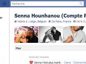 """Activité récente Facebook Senna (copain d'Amélie) """"Senna n'est plus marié"""""""