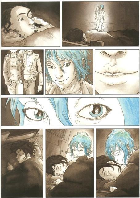 Le Bleu est une couleur chaude (Maroh)