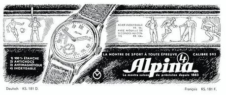 Alpina4  3 Sep Histoire des montres Alpina