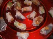 Rouleau d'hiver foie gras chutney mangues