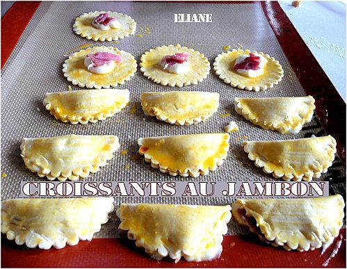 Bien-aimé Mini Croissants au Jambon | À Voir JY44