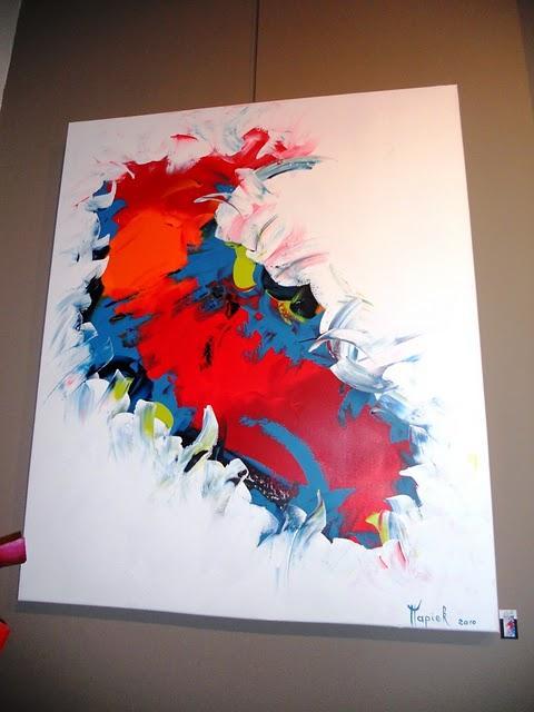 Expo peinture et papier mâché chez Alliage | À Voir